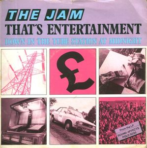 The Jam - That's Entertainment (7'')